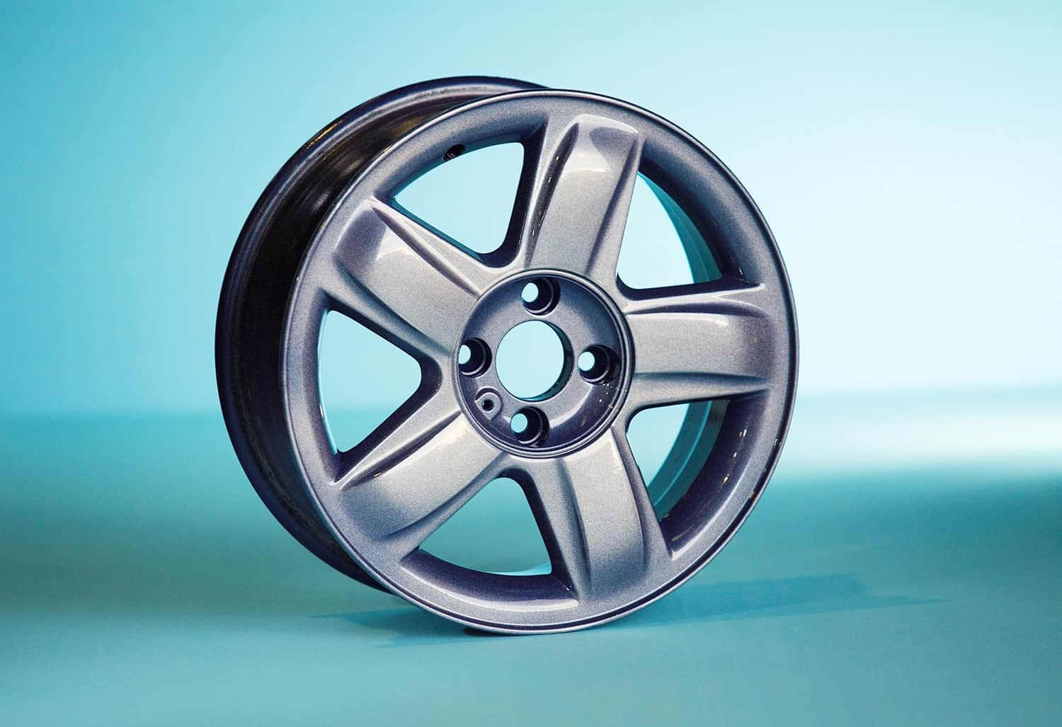 Powder Coated Alloy Wheel 1
