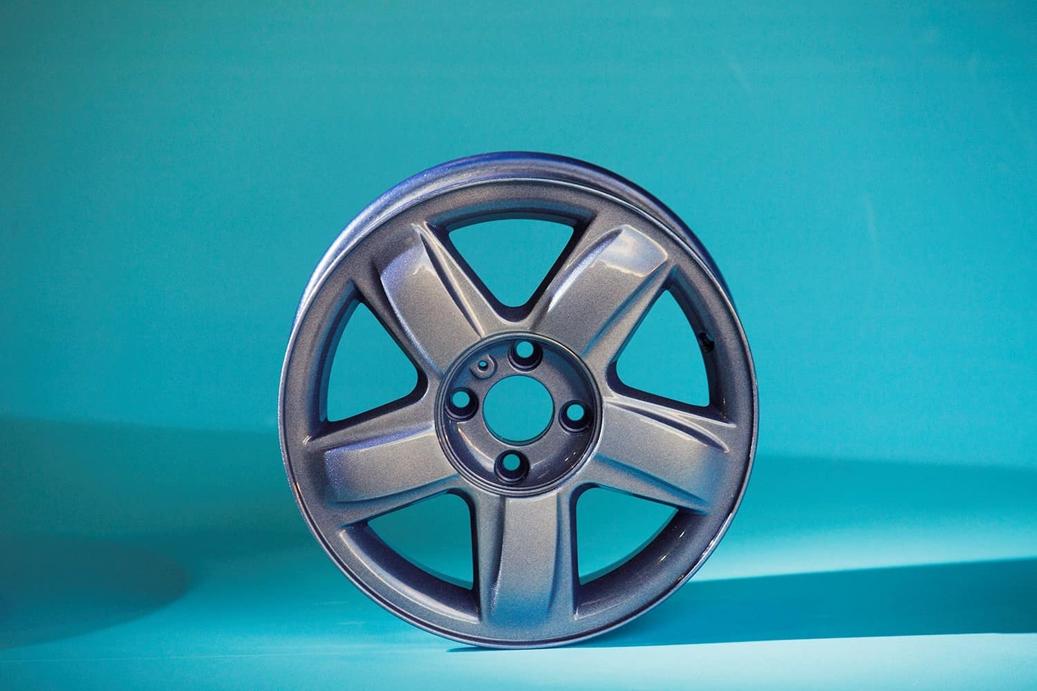 Powder Coated Alloy Wheel 3