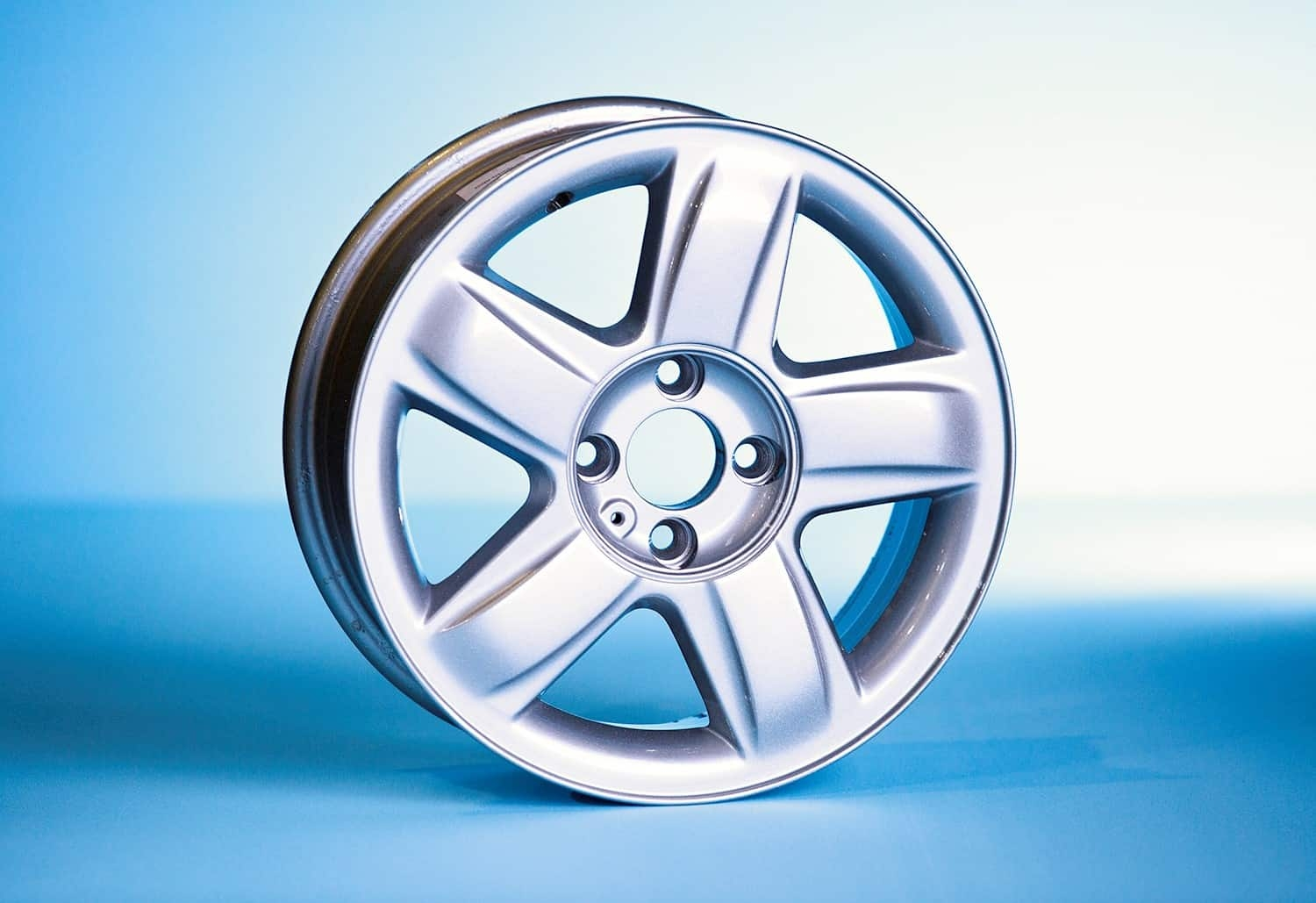 Powder Coated Alloy Wheel 4